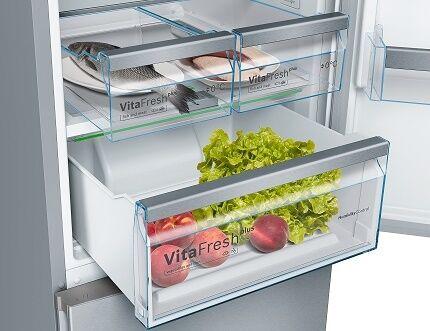 Система поддержания влажности и свежести в холодильниках Бош
