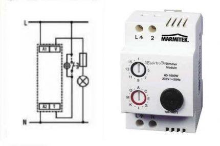 Модульный регулятор света