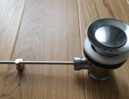 Металлический рычажный клапан