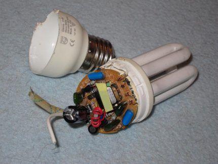 Компактная люминесцентная лампа