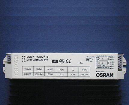 Электронный балласт Osram