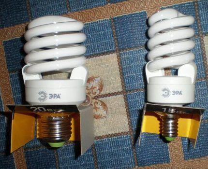 Энергосберегающие лампы Эра