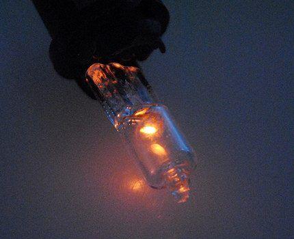 Капсульная галогеновая лампа G4
