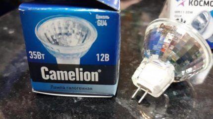 Галогеновые лампы Camelion