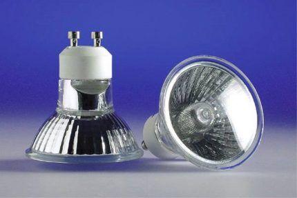 Галогеновые лампы с отражателем