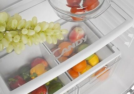Особенности хранения продуктов в холодильниках Candy