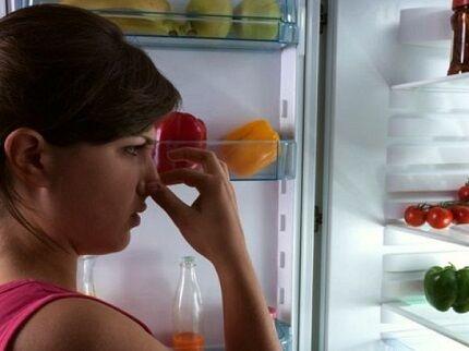 Запах холодильника