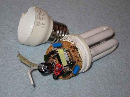 Конденсатор люминесцентных ламп