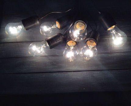 Лампы накаливания Эра