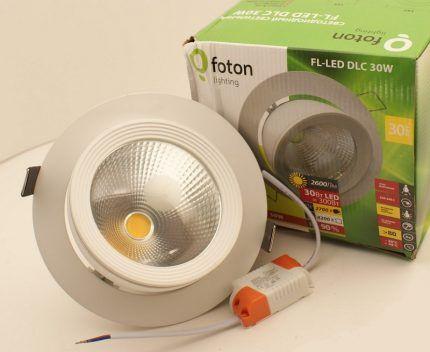 Светодиодные потолочные лампочки от Foton Lighting