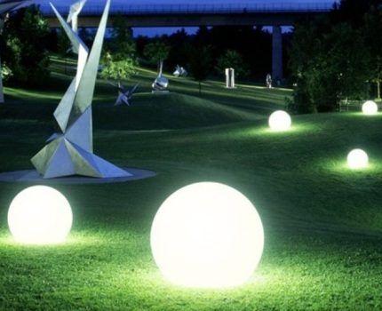 Парк в светодиодах