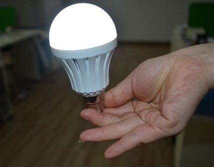 Бытовая светодиодная лампа e27