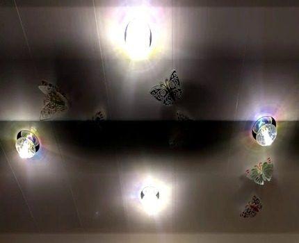 Мигание отдельных ламп