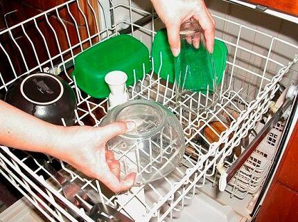 Посудомойка с половинной загрузкой