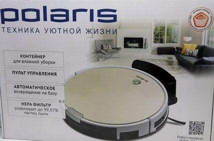 Робот пылесос Поларис