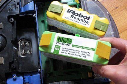 Аккумуляторная батарея iRobot Roomba 616