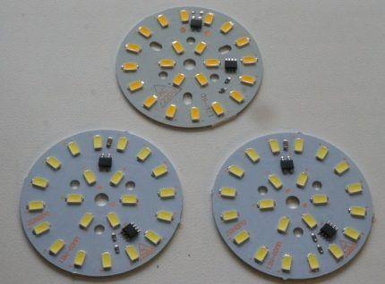 Платы со светодиодами