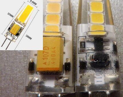 Устройство лампы G4
