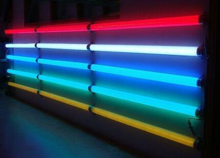 Разноцветная светодиодная подсветка