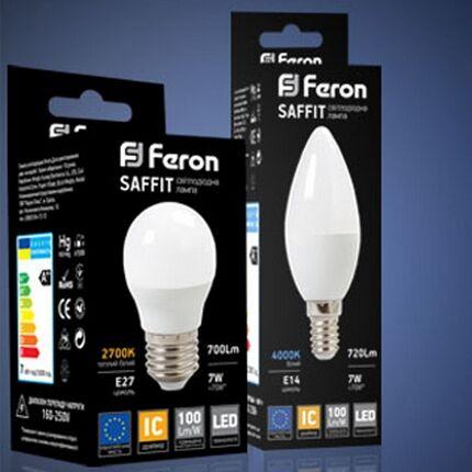 Лампа Feron SAFFIT е14