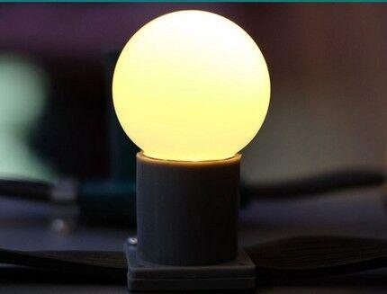 Матовая колба в светодиодной лампе