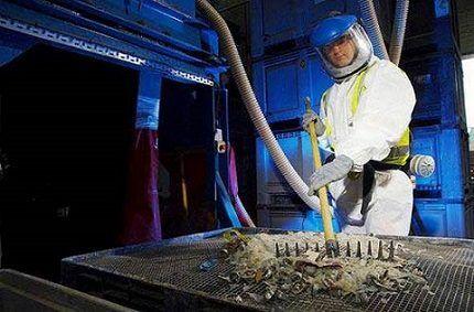 Утилизация токсичных элементов люминесцентных ламп