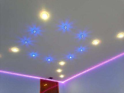 Светодиодные лампы в интерьере
