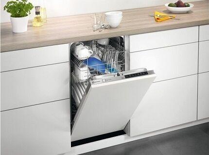 Обеспечение посудомойки электропитанием