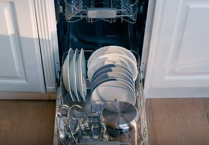 Нижний блок для глубокой посуды