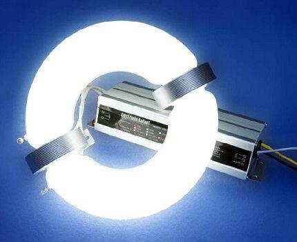 Энергосберегающая индукционная лампа