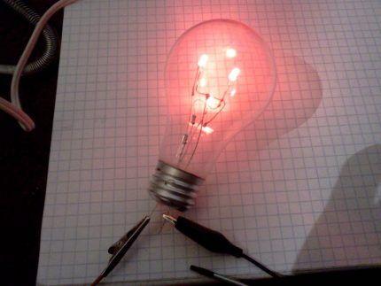 Диодная лампа из ЛН