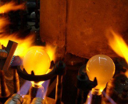 Производство ламп накаливания