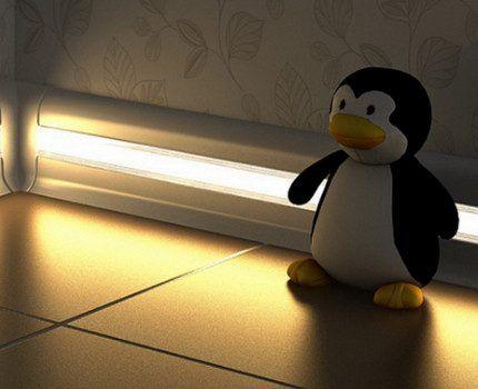 Люминесцентное освещение в детской