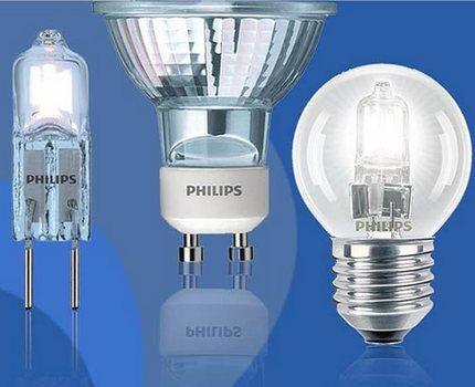 Лампы Филипс для точечных светильников