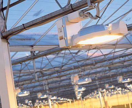 Освещение натриевыми лампами