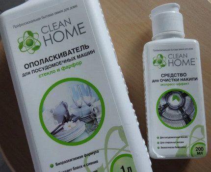 Российский ополаскиватель Clean Home