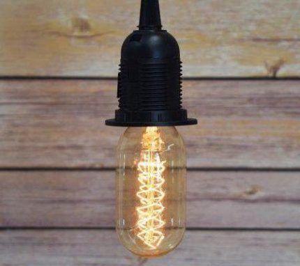 Патрон для филаментной лампы