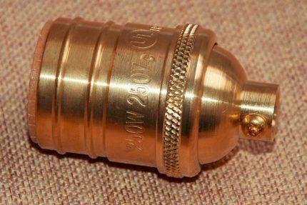 Маркировка металлического патрона