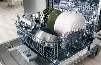 Правильная загрузка посуды в машину