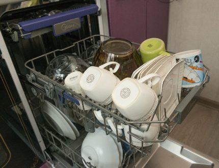 Подготовка посуды