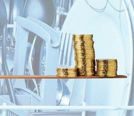 Экономия посудомоечных машин