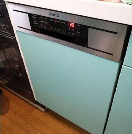 Технические отличия полноразмерной посудомойки