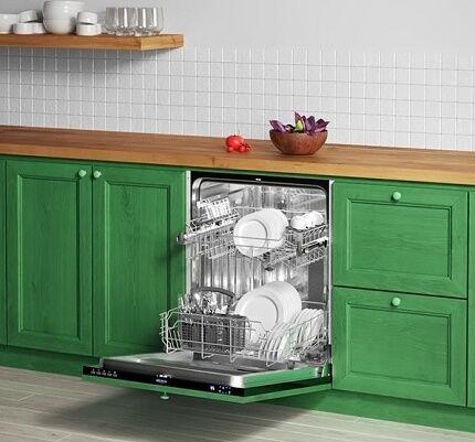 Оформление встраиваемой посудомойки Флавия