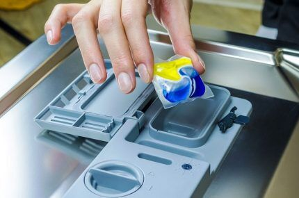 Моющее средство для посудомойки