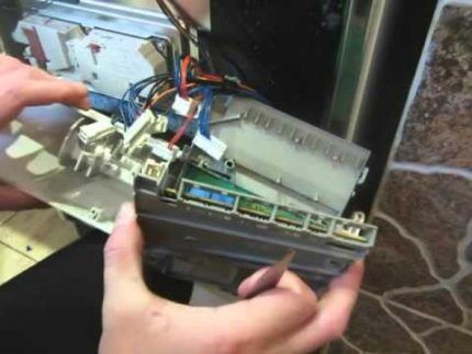 Блок управления посудомоечной машины Электролюкс