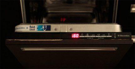 Коды ошибок посудомоечной машины Электролюкс