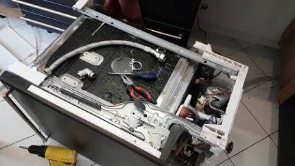 Ремонт посудомойки Электролюкс