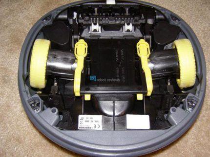 Пылесос мини робот от Керхер серии RC 4000