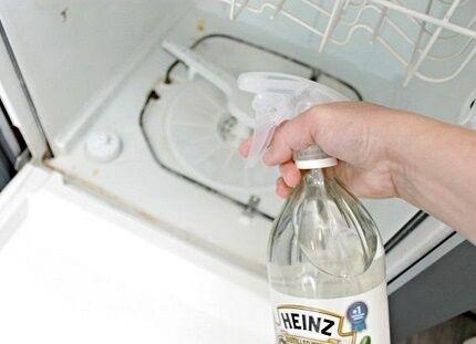 Ручная чистка посудомойки