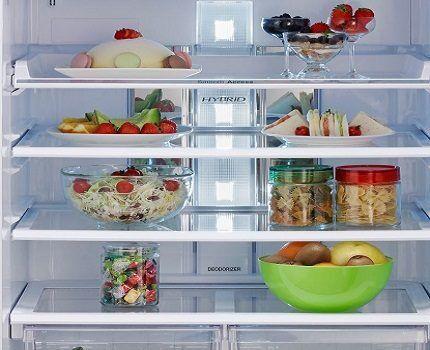Освещение для холодильника